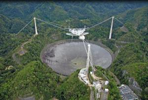 Arecibo Observatory By Jerry Valentin