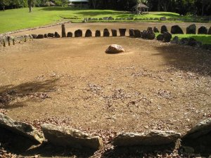 Caguana Ceremonial Center, Dancing Court