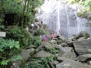 La Mina Fall at El Yunque
