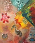 Taíno symbol by Luis Vélez